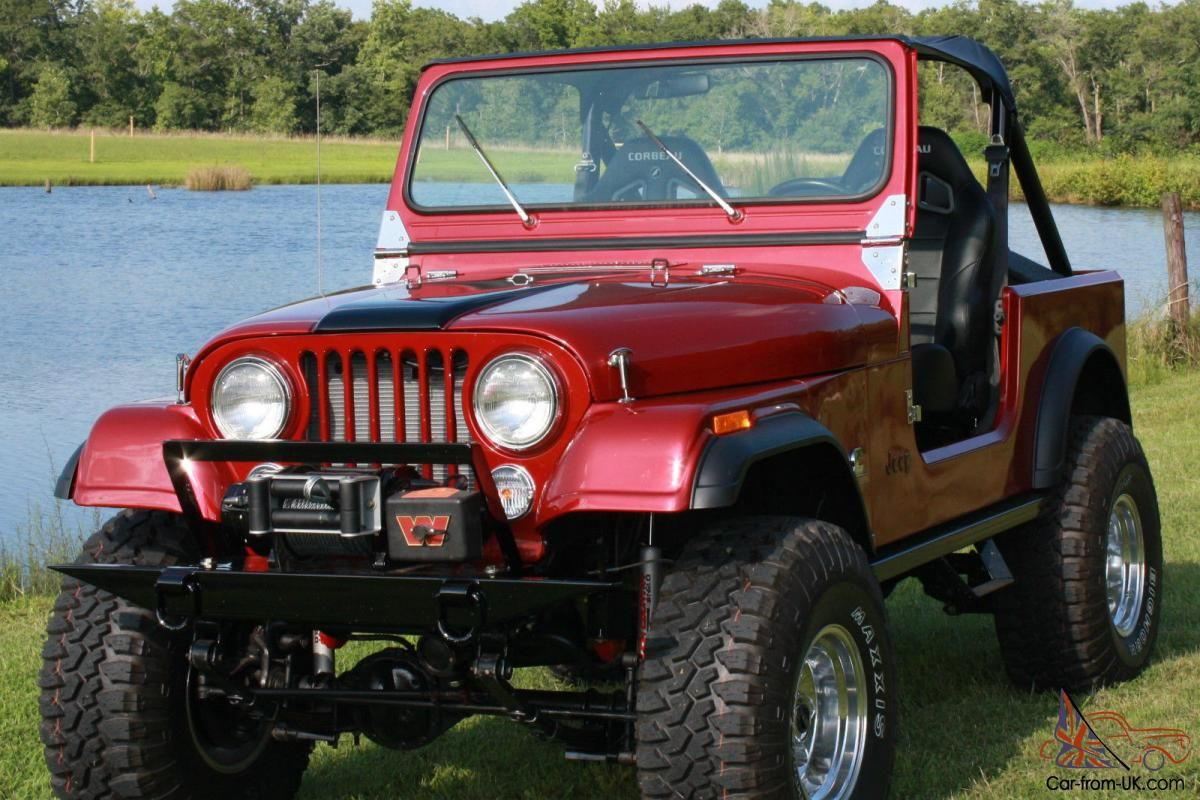 medium resolution of 1984 jeep cj7 diesel frame off restoration photo