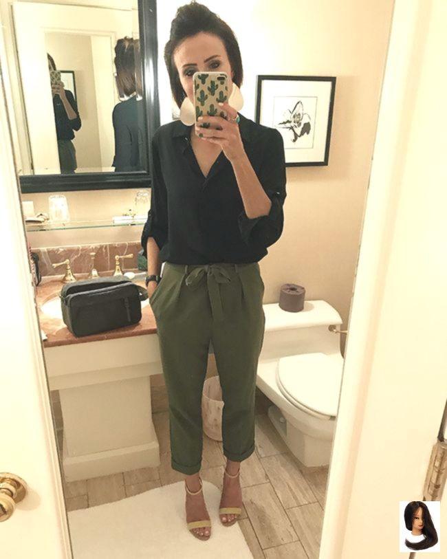 Lässige, bequeme Outfit-Idee, die immer noch schick aussieht. – #aussieht #bequ