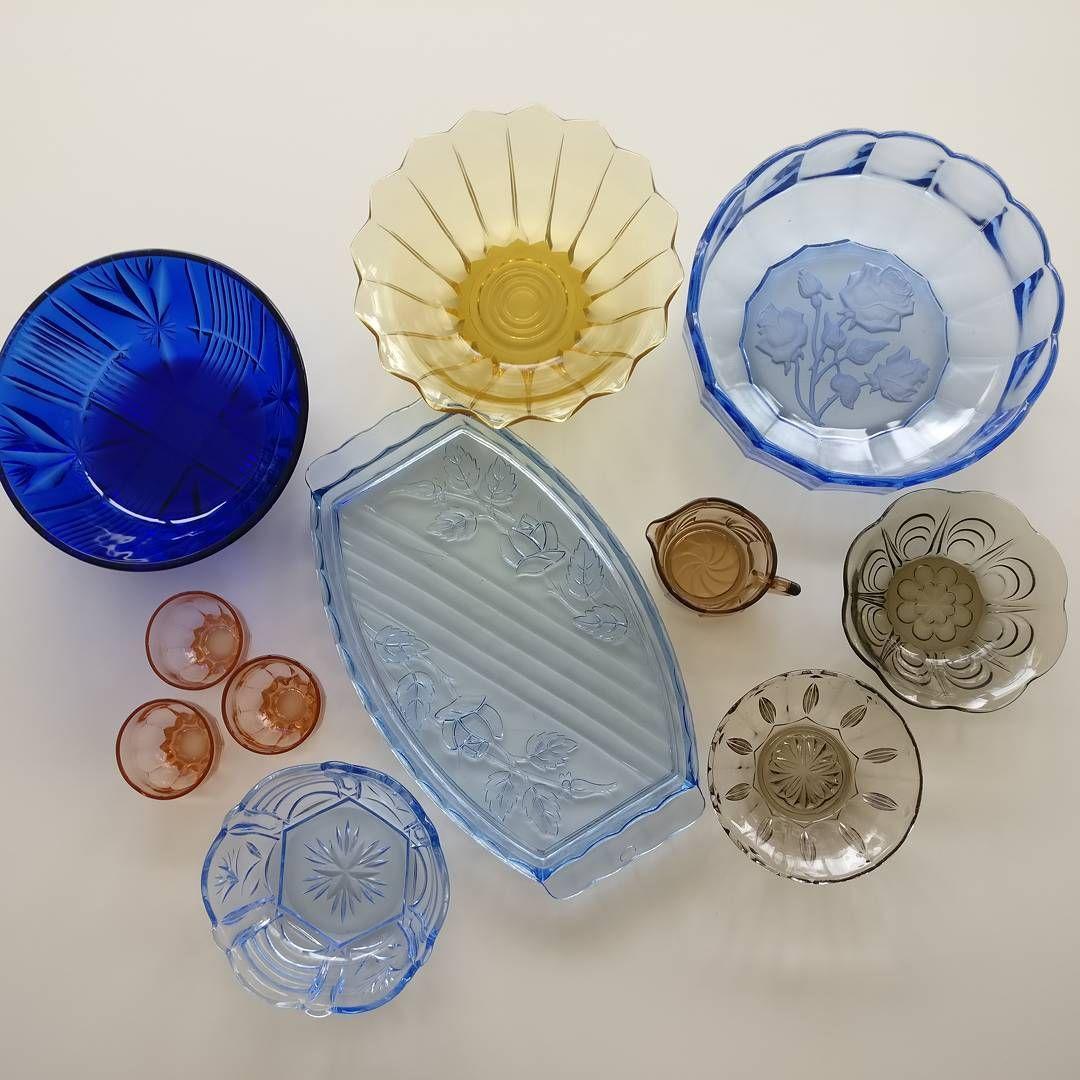 """51 Synes godt om, 7 kommentarer – Schjøtts Magasin (@schjoettsmagasin) på Instagram: """"Farvet glas. Priser fra 25,- til 100,-, spørg for pris og stand! #glas #vintage #vintageglas…"""""""
