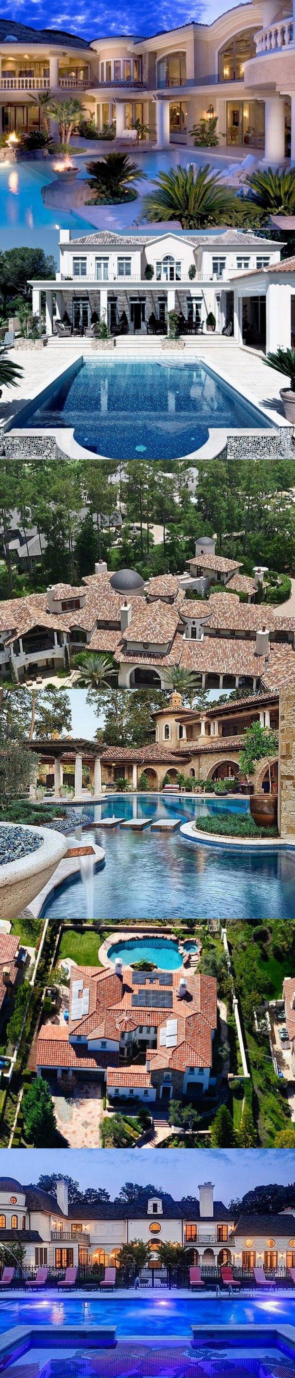 Stunning Dream Homes Mega Mansions From Social Media