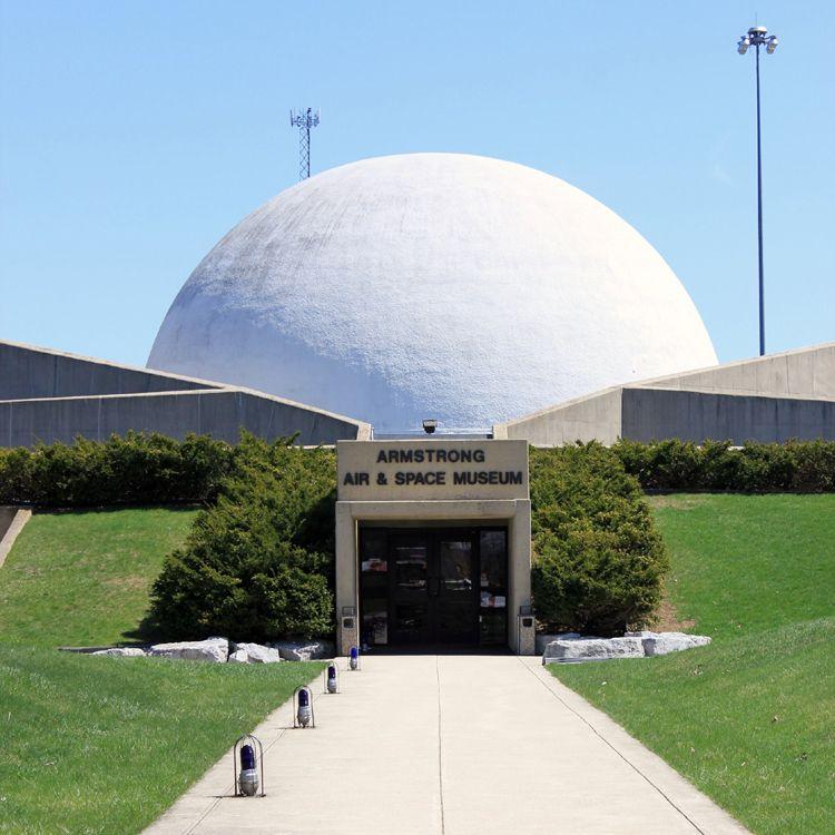 Armstrong Air Space Museum Wapakoneta history Ohio