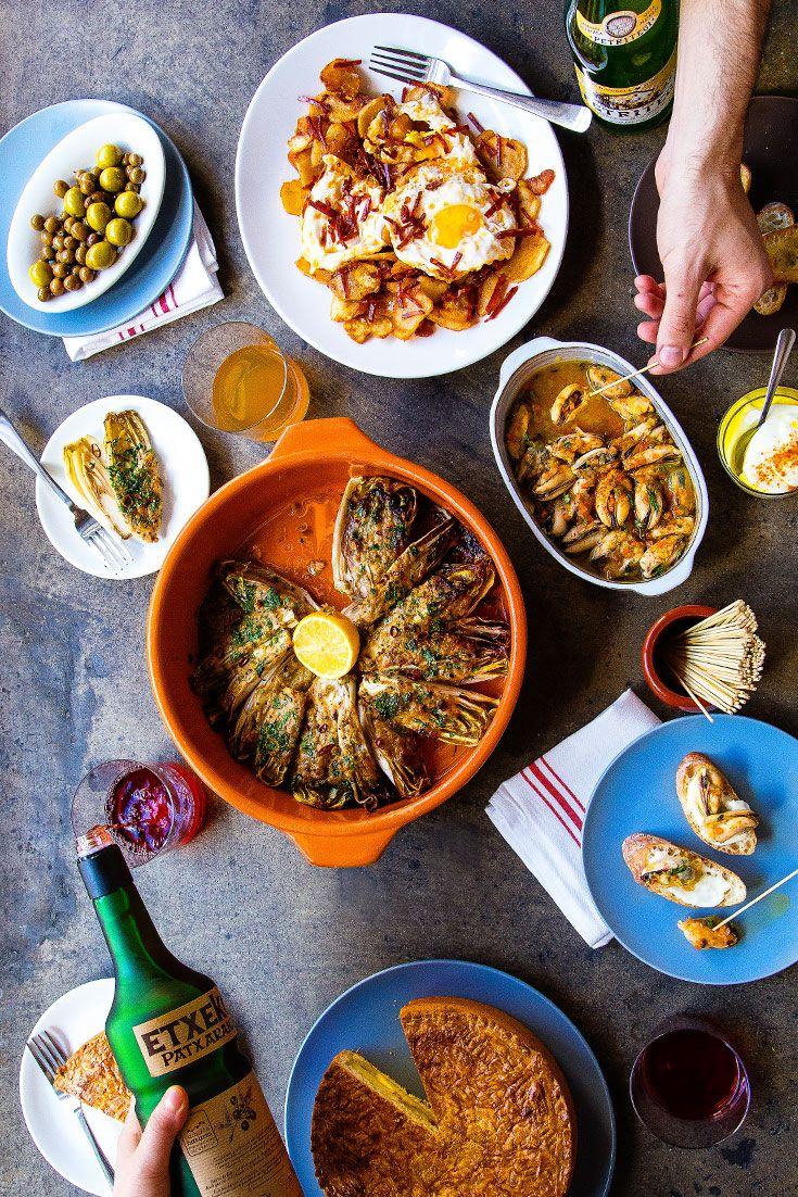Your Basque Dinner Party Menu | Comida