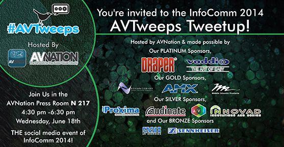 AVTweeps unite! #AV #AVNews #AVTweeps #ProAV #TweetAV #HD  #projection #Tech #HomeTheater #HomeTheatre #homeentertainment