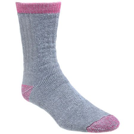 06137f916d7 Wolverine Clothing W97927270-020 Womens 2 Pack Pink Wool Socks ...