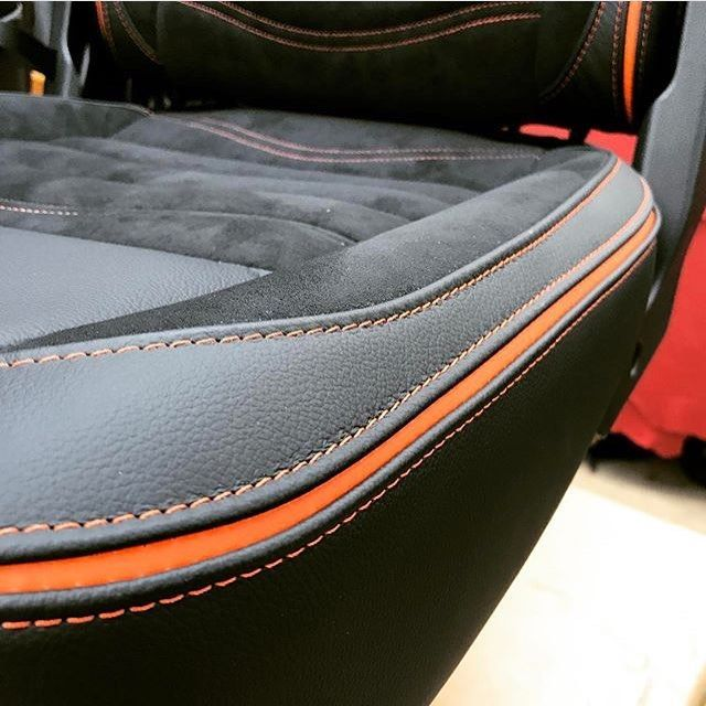 Pin by A on Auto Upholstery | Custom car interior ...