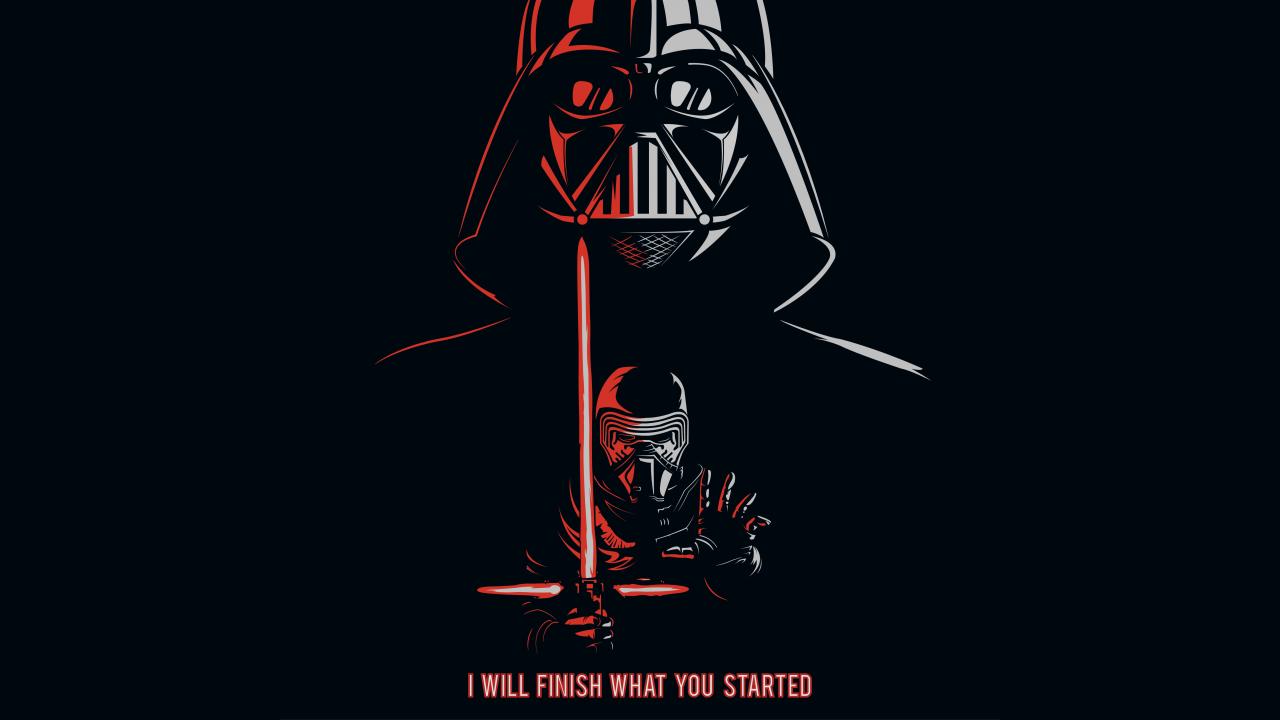 Star Wars Battlefront Darth Vader Desktop Background (With