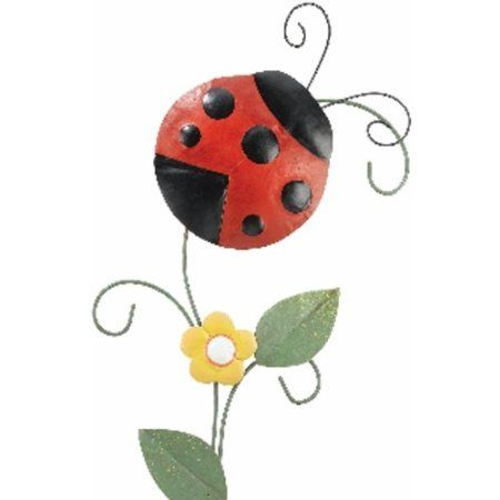 Outdoor Decor Every Garden Needs A Ladybug