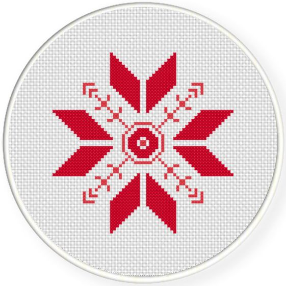 Geometric Pattern Cross Stitch Pattern   Aritos, Punto de cruz y Puntos