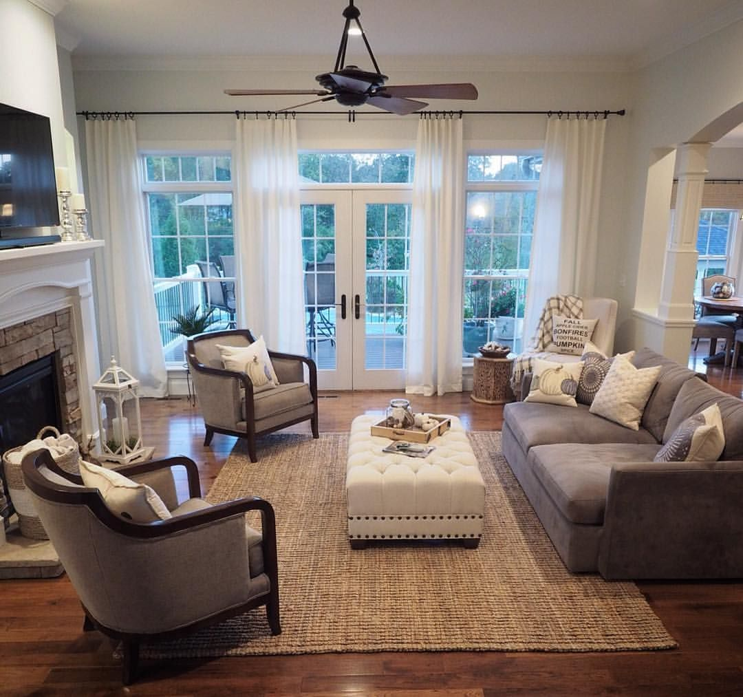 Pin By Stephanie Kreiner On New Home In 2020 Living Room Remodel