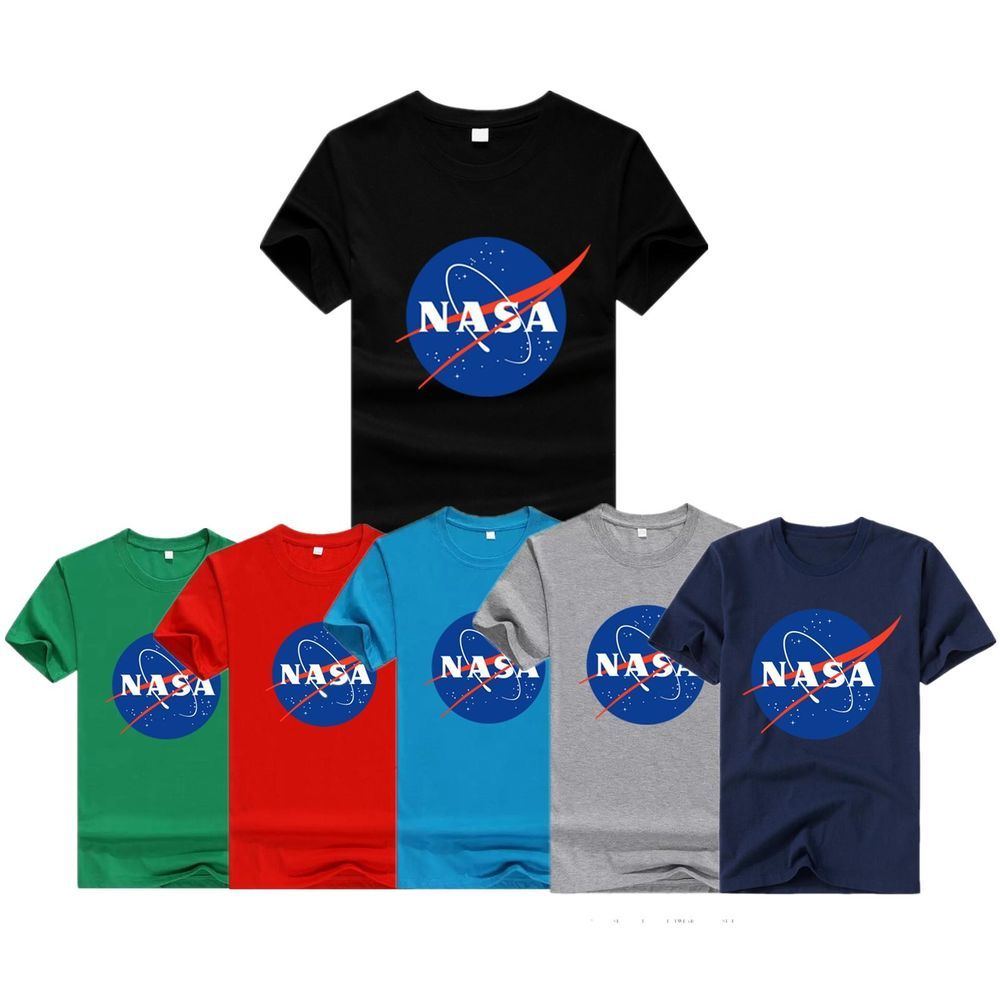 Space T Shirts Ideas Spaceshirts Spacetshirts Fashion Chic Nasa Retro Logo Vintage Look Space 80 S Mens Cotton T Shirt Space Shirts Mens Tshirts Nasa Retro