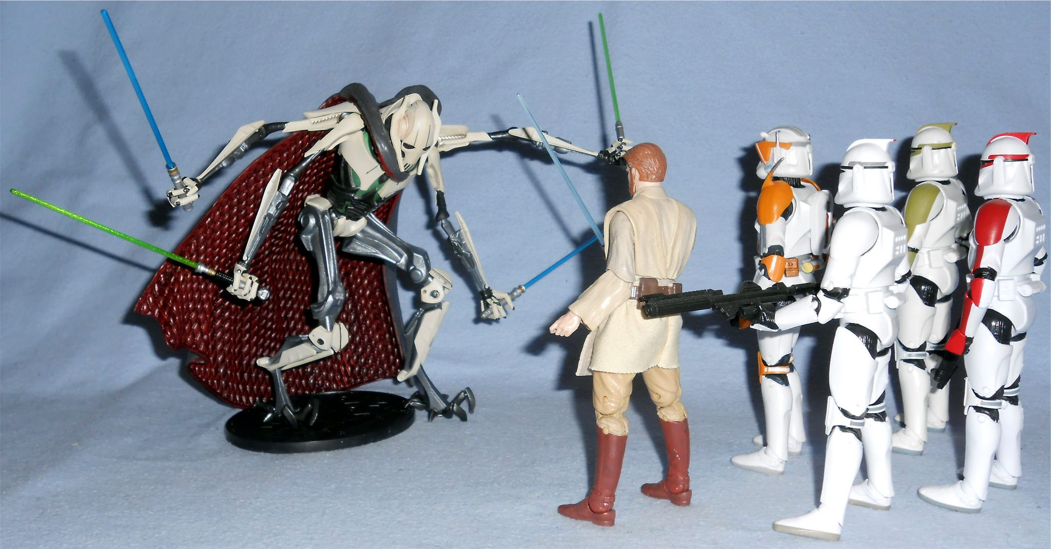 Star Wars The Black Series General Grievous 6-Inch Figure In Stock