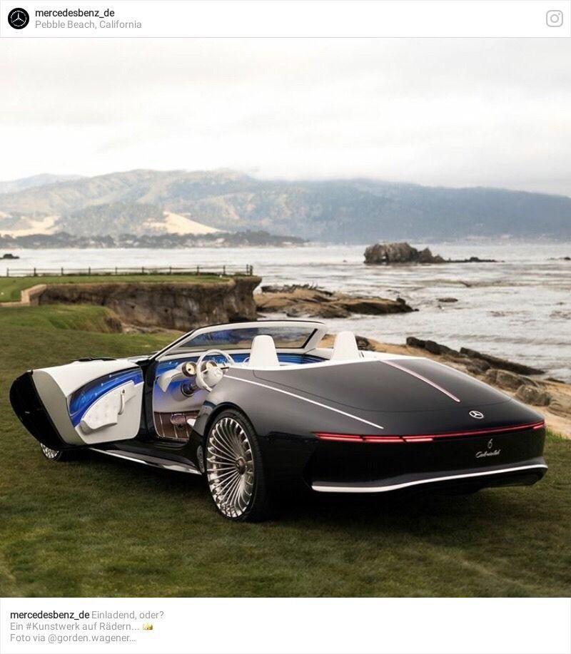 Autoflusterer Newferrari Mercedes Maybach 6 Cabriolet In 2020