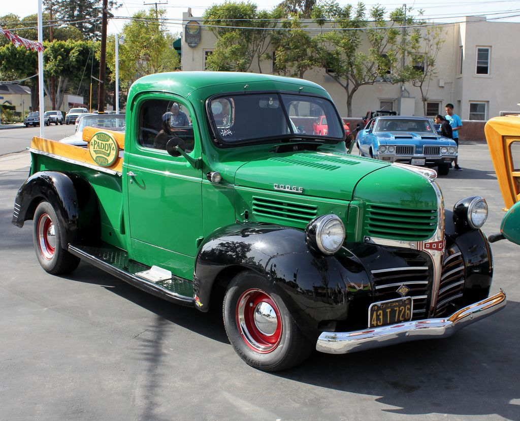 1941 Two-Tone Dodge Pickup Truck | Dodge pickup trucks, Dodge pickup ...