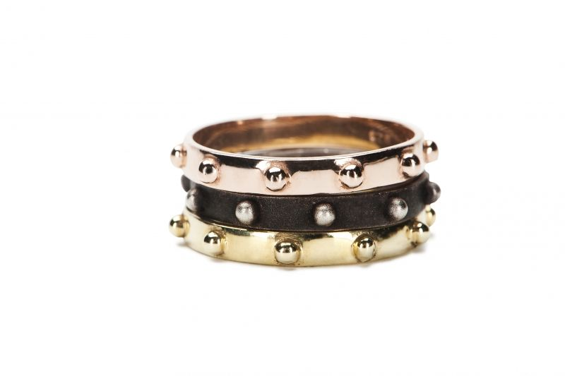 Rosary rings by Katie Design Currently Craving Jewelry I