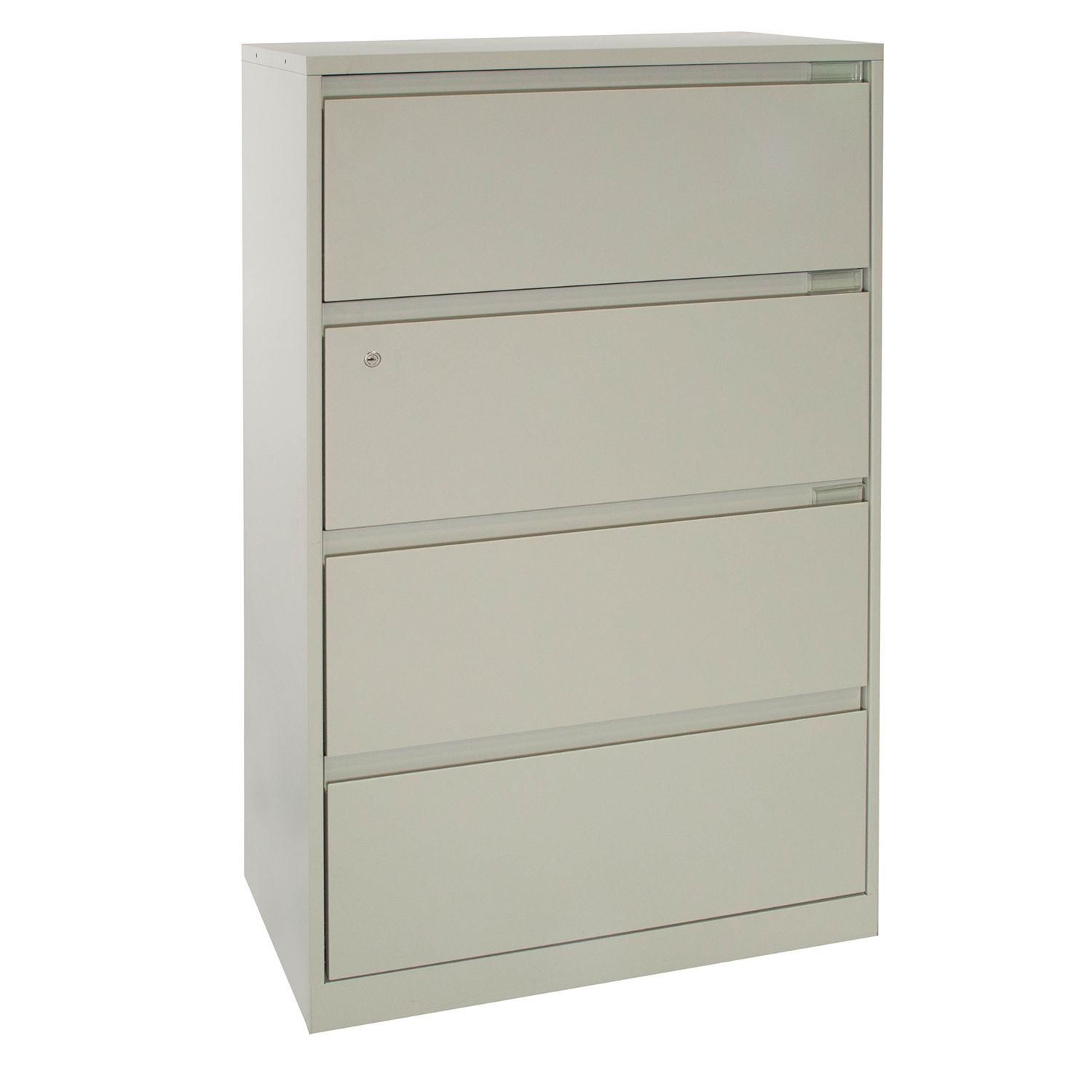 Steelcase Used 4 Drawer 30 Inch Lateral File f White – National