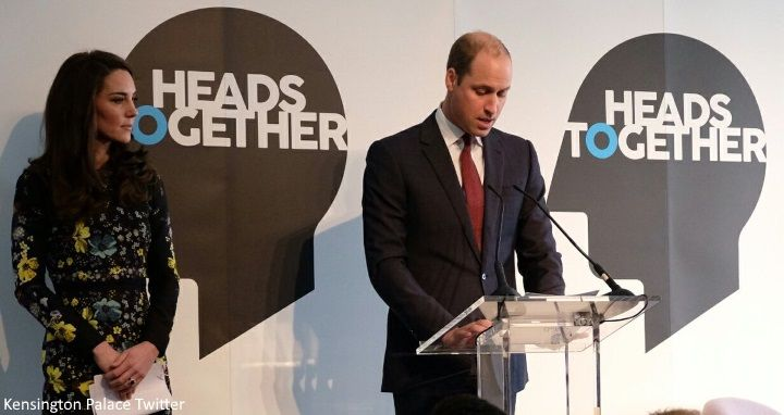 The Duke and Duchess of Cambridge and Prince Harry spoke at a briefing at the Institute of Contemporary Arts in Carlton House Terrace today ...