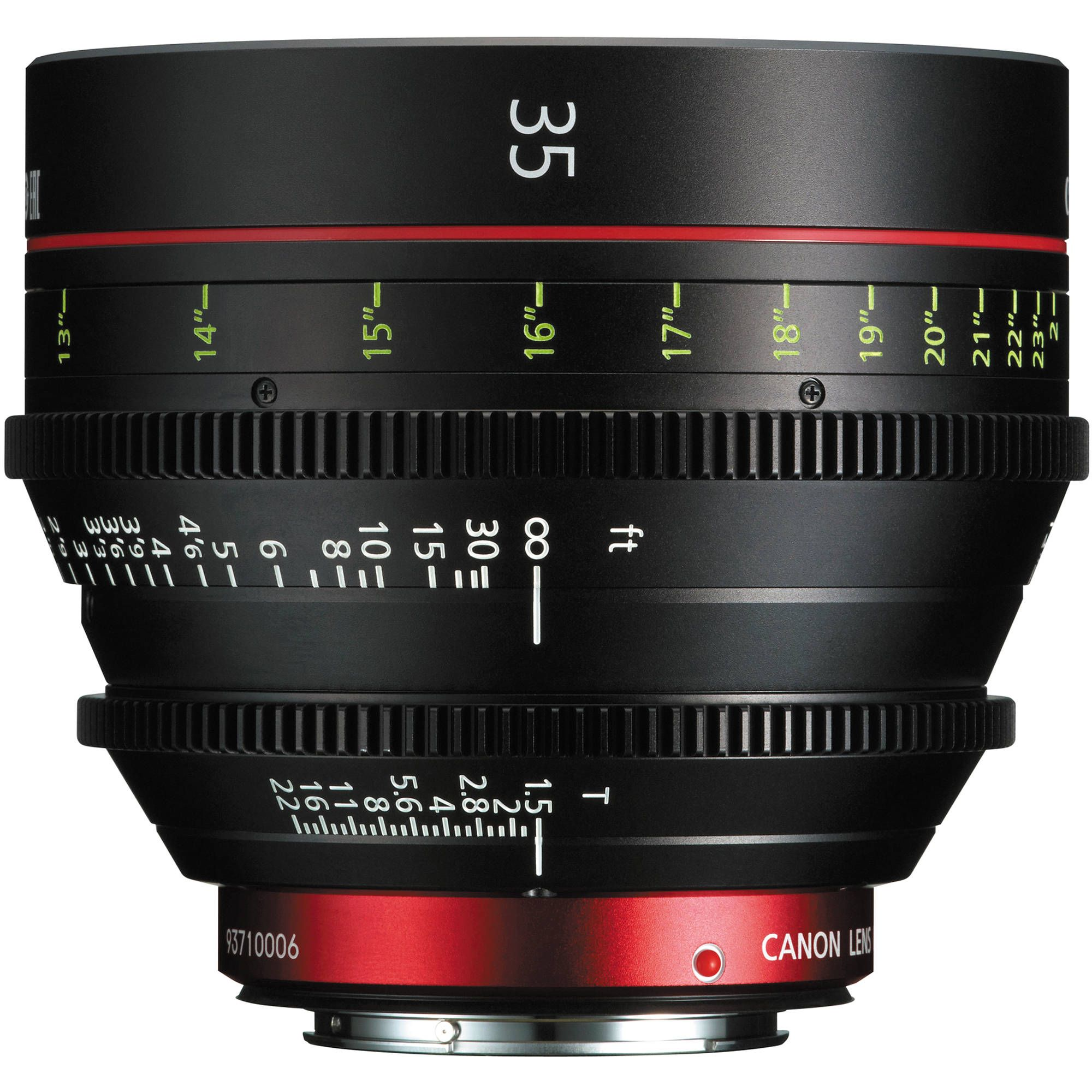 Canon Cn E 35mm T1 5 L F Cinema Prime Lens Ef Mount
