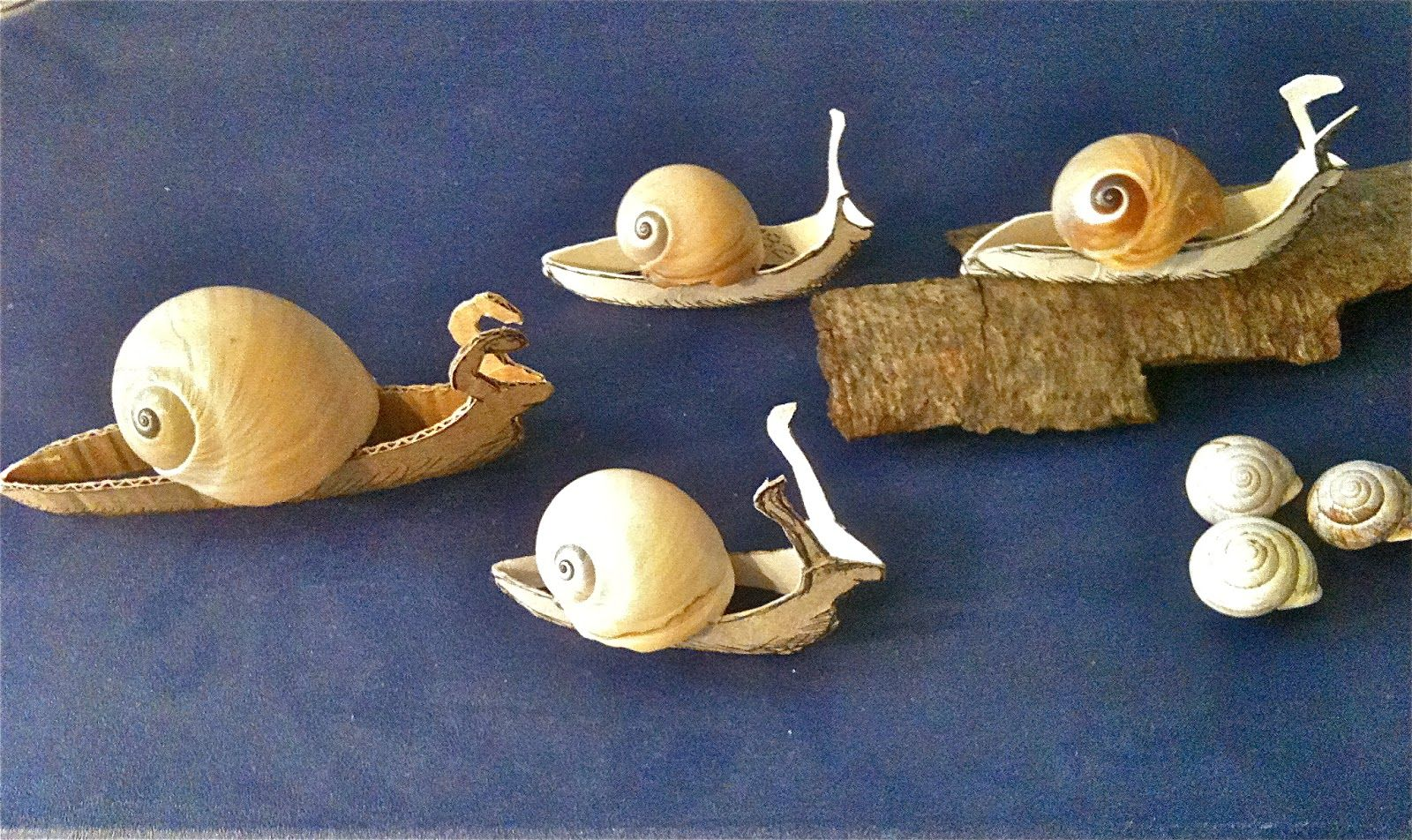 schnecken aus toilettenpapierrollen snails made from toilet paper rolls upcycling. Black Bedroom Furniture Sets. Home Design Ideas