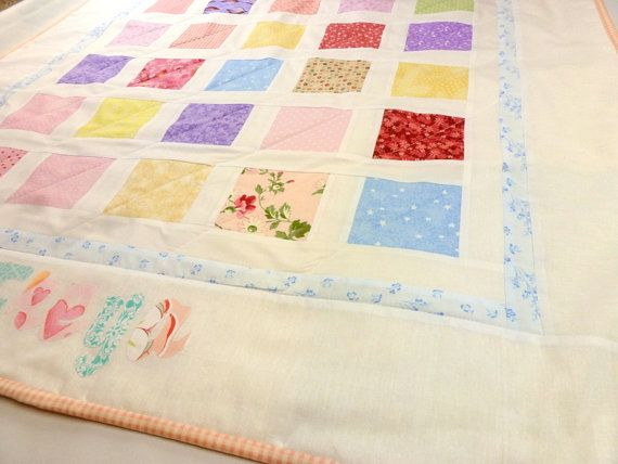 Personalized quilt custom baby shower gift ideas pinterest personalized quilt custom baby shower giftsbaby negle Image collections