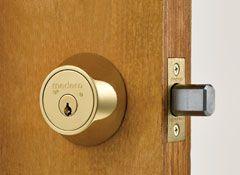 When Choosing A New Door And Lock Make Sure You Re Not Also Creating An Attractive Target For Break Ins Door Lock Security Entry Doors Door Locks