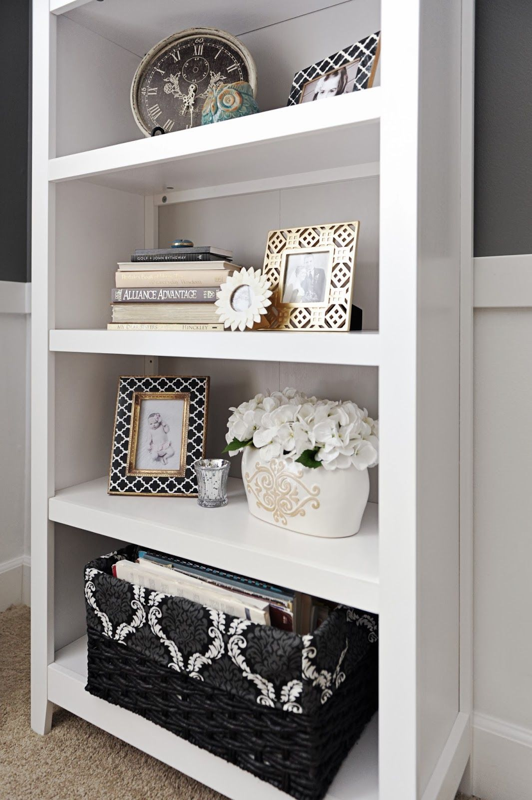 Studio 7 Interior Design: How to Stage a Bookcase | House Ideas ...