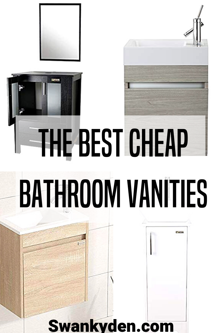 Cheap Bathroom Vanities Under 200 With Images Cheap Bathroom