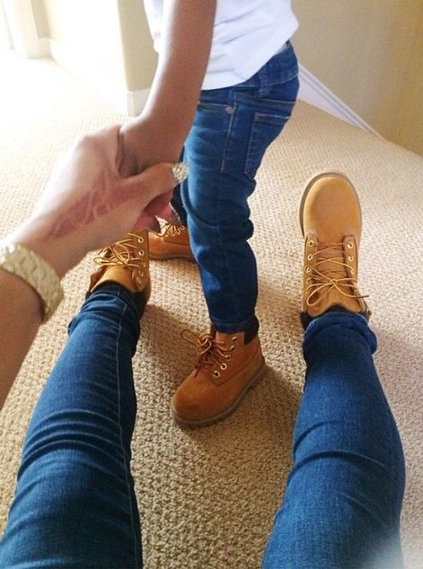 Matching #Jeans #TimberLands #Family | Family Matching Sets
