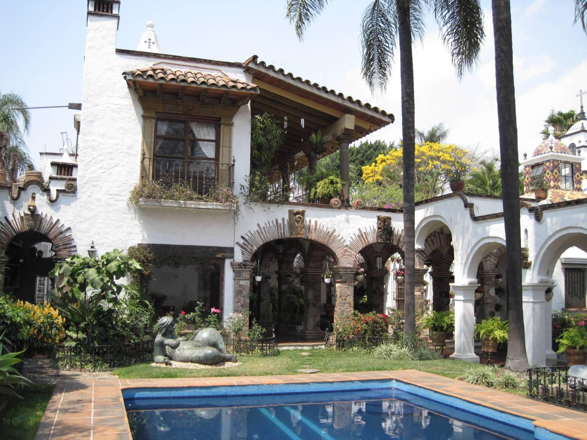 Casas estilo colonial mexicanas pesquisa google for Fachadas de casas mexicanas rusticas