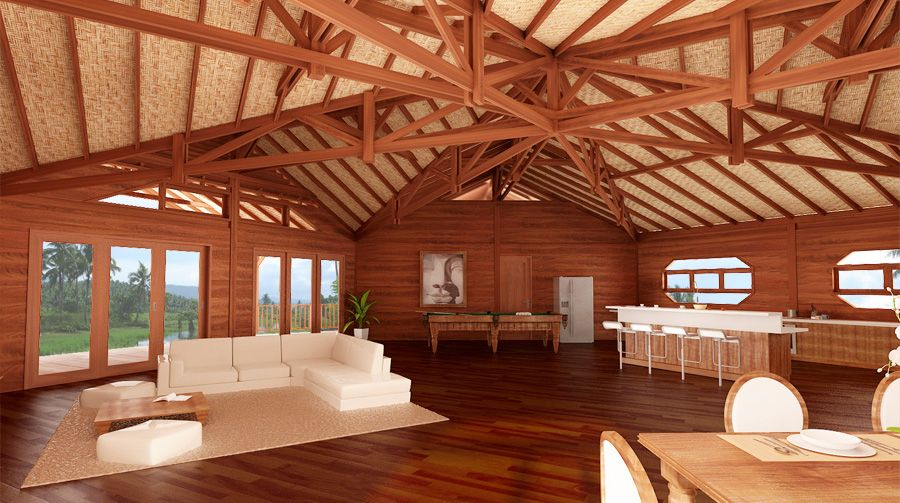 Bali prefab homes bali buddha model kit homes and house for Tropical kit homes