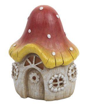 Another great find on #zulily! Mushroom House Figurine by GANZ #zulilyfinds