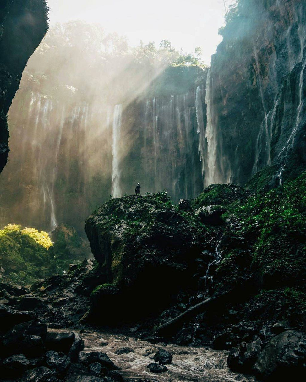 Explore The Beauty Of Tumpak Sewu #Waterfall, #Lumajang