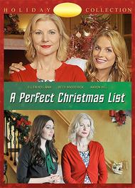 A Perfect Christmas List (2014) DVD   Christmas movies, Christmas movie night, Lifetime movies