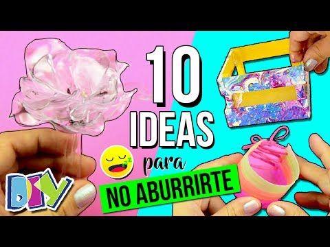 Te Aburres Ya No 10 Ideas Manualidades Y Diy S Faciles