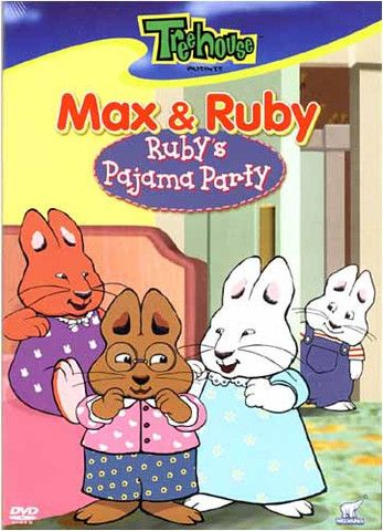 Max And Ruby New Baby : Ruby's, Pajama, Party, Ruby,, Party,, Cartoon, Shows