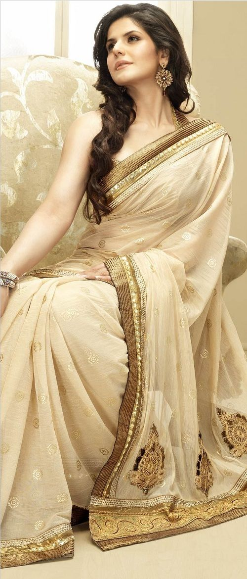 Image result for sandal color net sarees