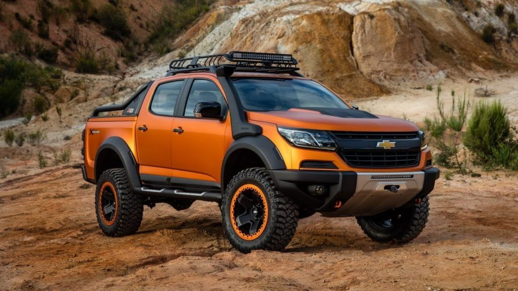 2019 Chevrolet Colorado Zr2 Concept Chevycolorado Chevrolet