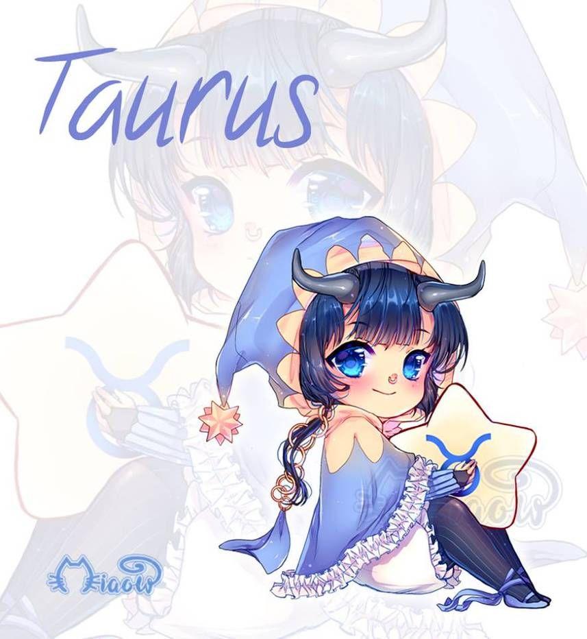 Zodiac Sign Taurus By Miaowx3 On Deviantart Anime Zodiac Zodiac Characters Zodiac Signs Taurus