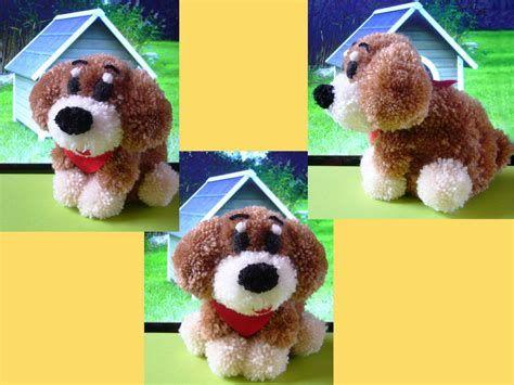 Image result for pom pom dog craft toys pinterest for Pom pom puppy craft