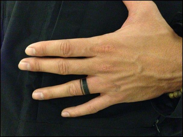 Man Wedding Ring Tattoo | Tats | Pinterest | Ring tattoos, Tattoos ...