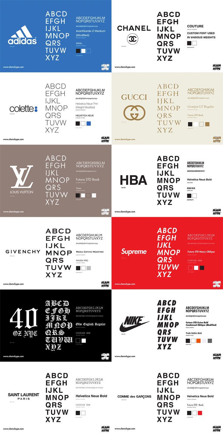 Fashionable Font: The Rhetoric of Typography • Stop, Drop & Vogue