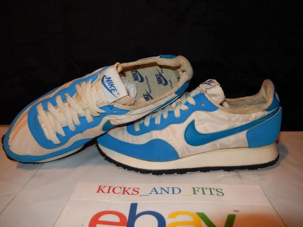 on sale de1dc 08511 VTG OG 1980s Womens Nike Terra Running Shoes PermaFoam Made in USA DS 8  waffle Nike RunningCrossTraining