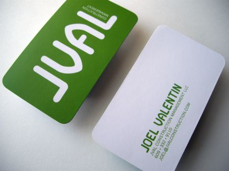 Jval construction management business cards and custom font i jval construction management business cards and custom font i designed for a friend reheart Choice Image