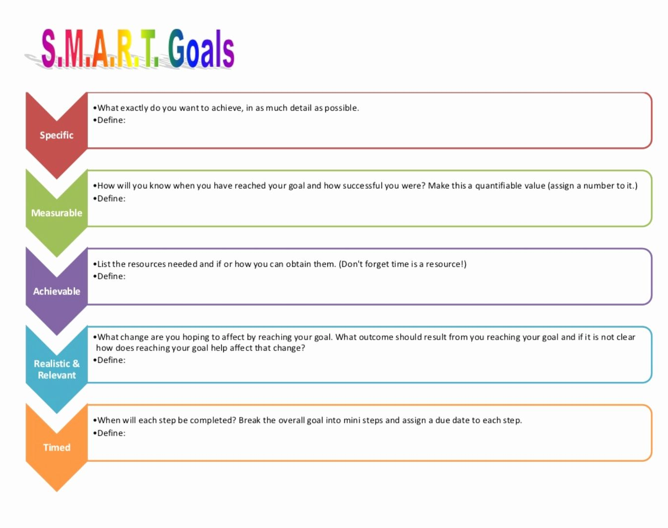 30 Goal Action Plan Template in 2020 Goals template