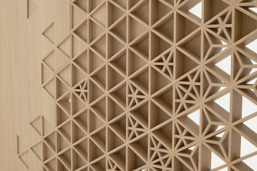 seven_doors, (2015), Designed by nendo / Oki Sato