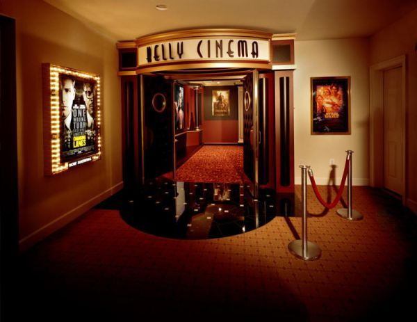 Decorating A Stylish & Comfy Movie Room | Doors, Room and Movie rooms