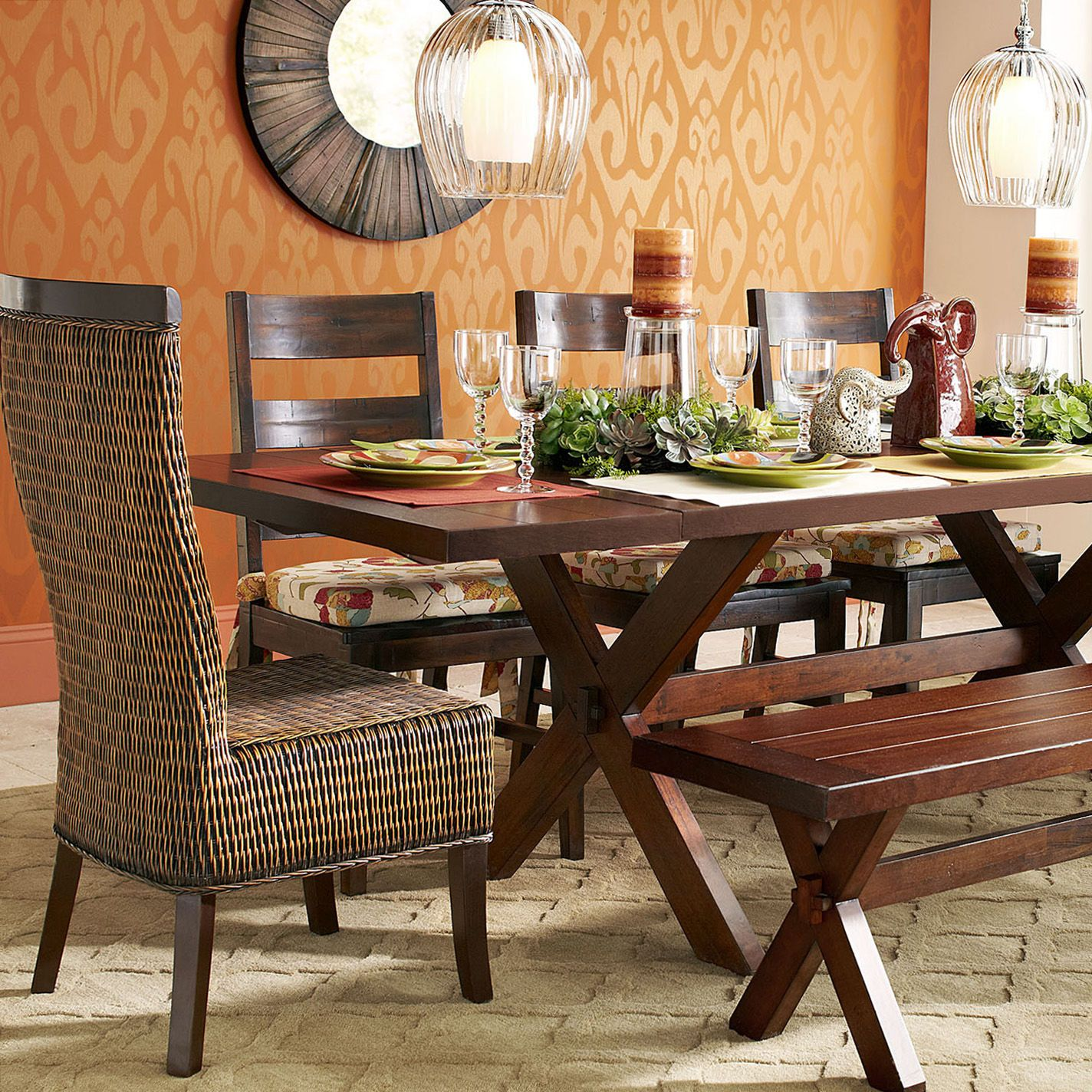 Marvelous Lurik Dining Chair Pier 1 Dining Room Furniture Creativecarmelina Interior Chair Design Creativecarmelinacom