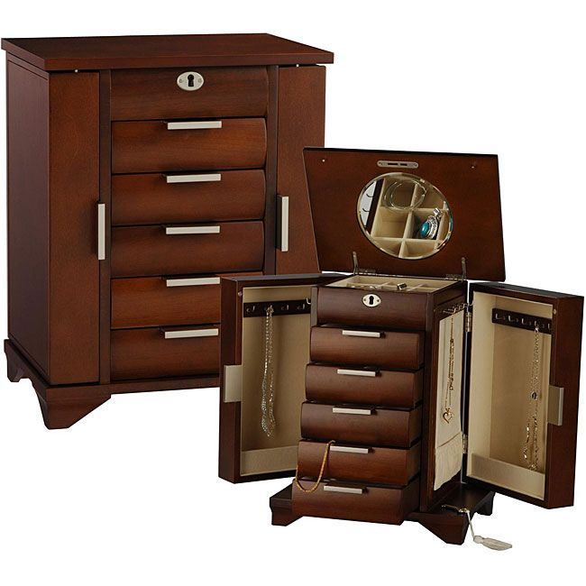 Overstock Store your valuables in an elegant jewelry box Jewelry
