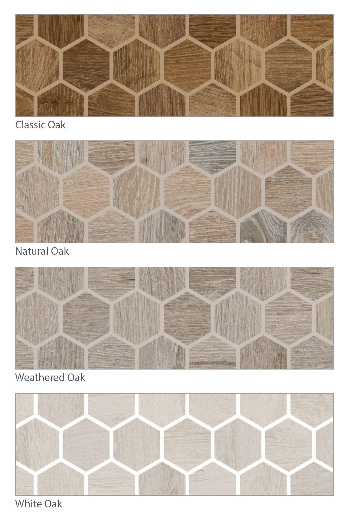 American Olean Waterwood Olean Hexagonal Mosaic Tile Companies