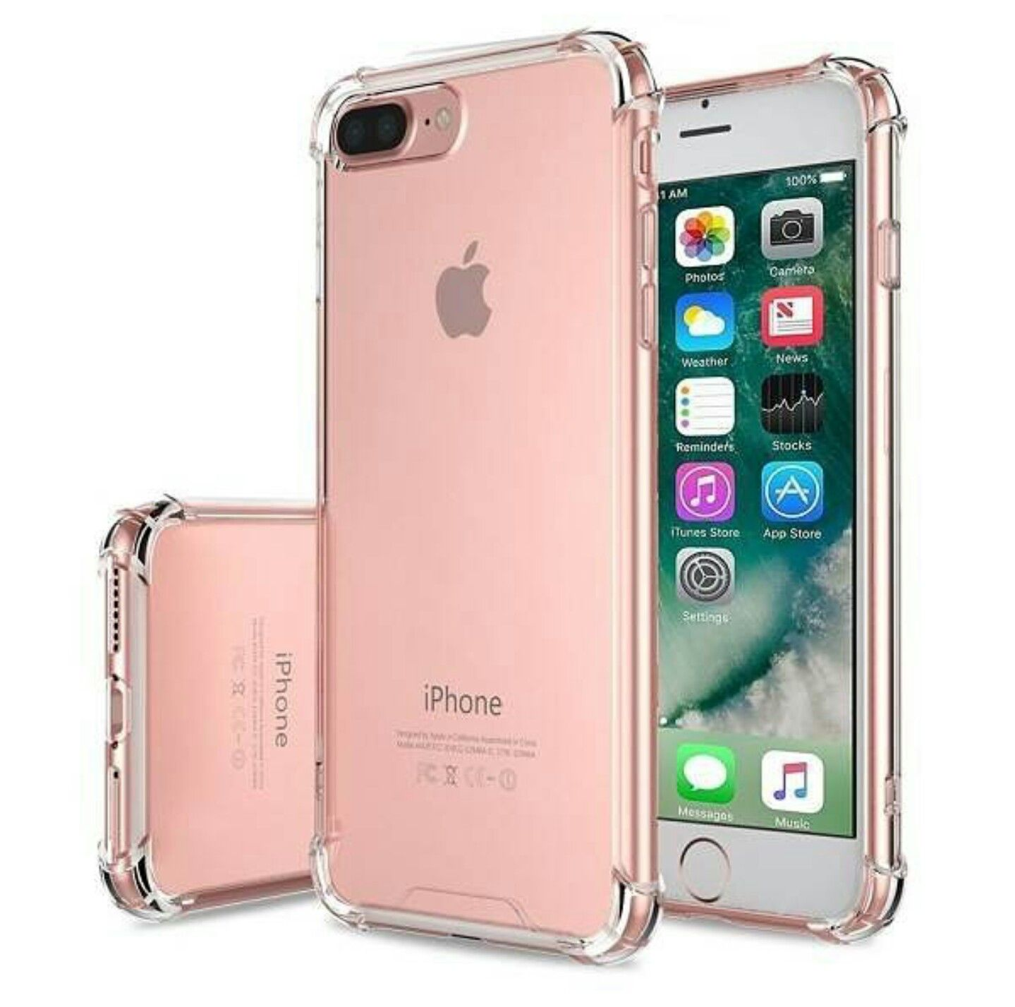 Shock Proof Anti Knock Protective Iphone 7 8 Soft Cases Retailite Iphone Iphone 7 Plus Cases Iphone 7