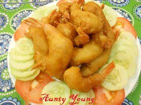 Aunty Young(安迪漾): 炸虾球(Prawn fritter)